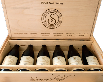 2006 Pinot Noir series (6-pack wooden box) Image