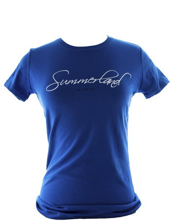Women Logo T-Shirt Blue