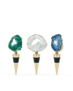 Geode Bottle Stoppers by Blush