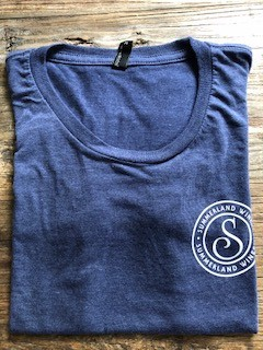 Women's Tee Navy Large
