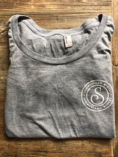 Women's Tee Gray Large
